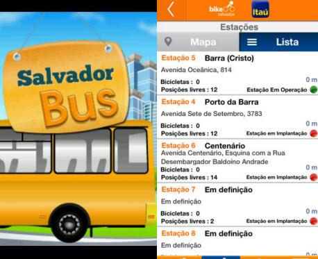 Sem metrô, o jeito é usar o Salvador Bus e Bike Salvador para andar pelas ruas da antiga capital brasileira