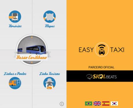 Busão Curitibano e Easy Táxi encurtam o caminho até a Arena da Baixada
