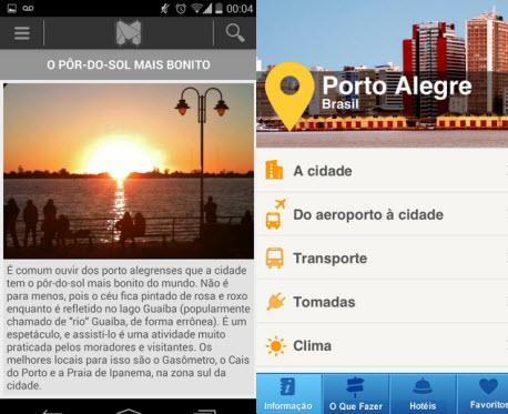 POA Guide e Porto Alegre: Guia Turístico levam você ao pôr do sol em Guaíba