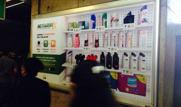Metrô de São Paulo ganha farmácia virtual