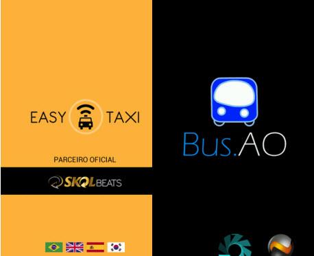 Easy Taxi e Bus.AO ajudam você a encontrar um transporte na cidade
