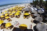 Praia do Futuro, Fortaleza - Ceará (Crédito: Visit Brasil)