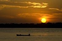 Por do Sol no Guaiba, Porto Alegre - Rio Grande do Sul (Crédito: Visit Brasil)