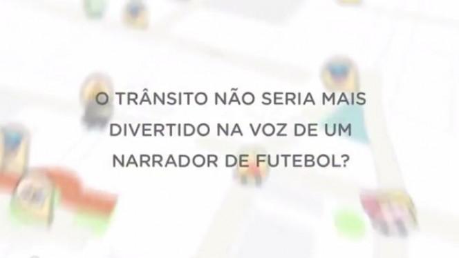 Waze usa a voz de Silvio Luiz para narrar os trajetos do usuário