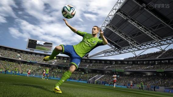 Animação do FIFA 15 está cada vez mais próximo da realidade
