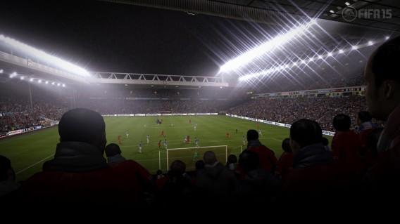 Sistema de iluminação dos estádios é uma das boas novidades do FIFA 15