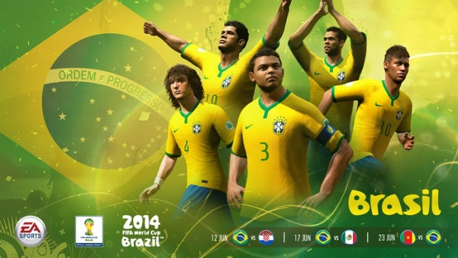 EA SPORTS 2014 FIFA WORLD CUP WALLPAPER COLLECTION
