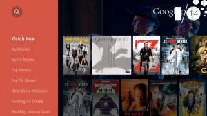 Google I/O 2014: Android TV – um pequeno sistema operacional na sala