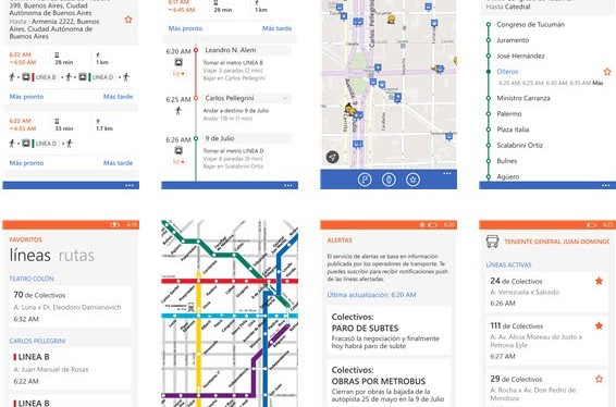 Guia de transporte público Moovit chega ao Windows Phone