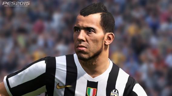 Atleta Carlos Tévez, da Juventus, Itália