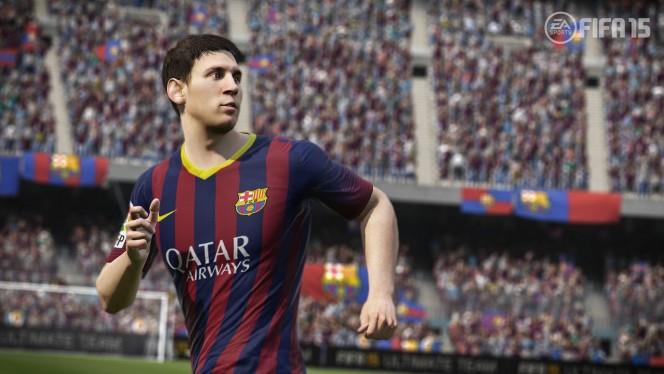Um quase humano Messi aparece novamente como garoto-propaganda do FIFA 15