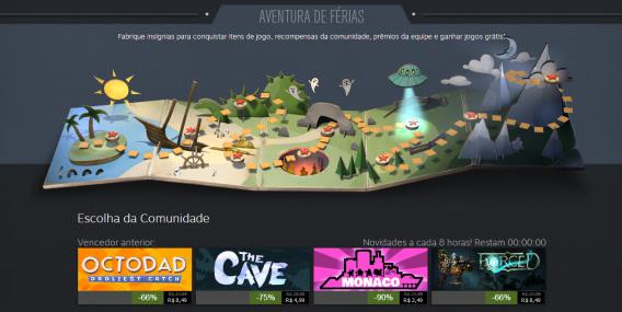 Promoção de verão do Steam