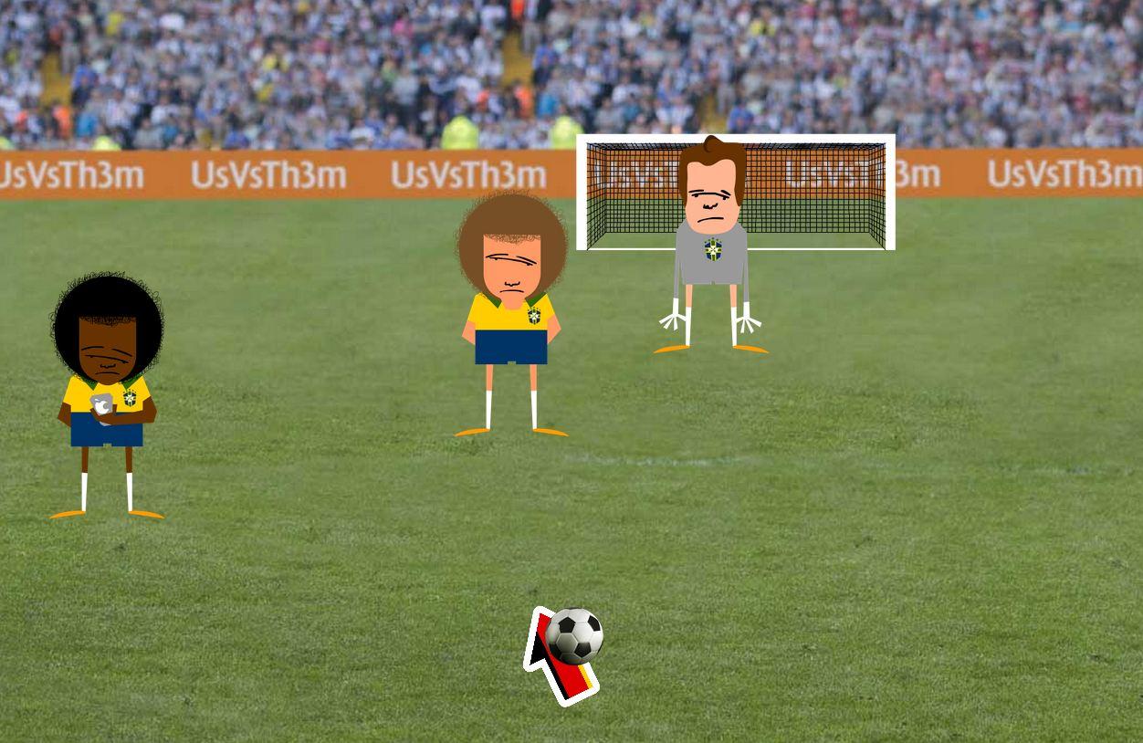 Game online tira sarro da goleada sofrida pelo Brasil para Alemanha