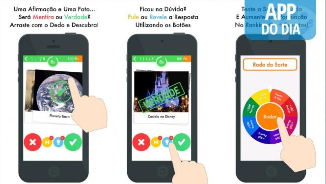 App do Dia: Será? Mentira ou Verdade Brasil