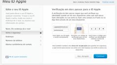 Verificação em dois passos nas contas da Apple chega ao Brasil