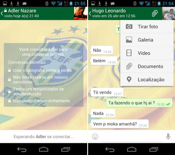 O ZapZap oferece vários recursos que o WhatsApp não tem