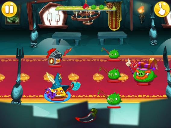 Angry Birds Epic traz um RPG medieval divertido com os Angry Birds para Android