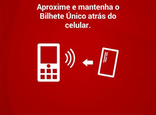 Como recarregar o Bilhete Único via Android
