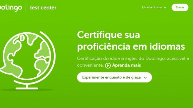 duolingo oferece testes gratuitos