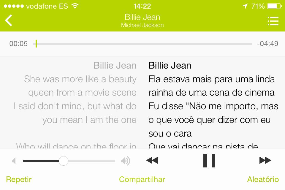 Letras.mus.br mostra letra original e traduzida de músicas internacionais