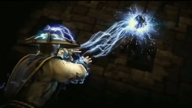 Raiden volta no Mortal Kombat X