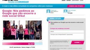 Orkut ganha abaixo-assinado para não ser desativado