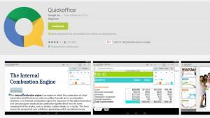 Google removerá Quickoffice de sua loja de aplicativos