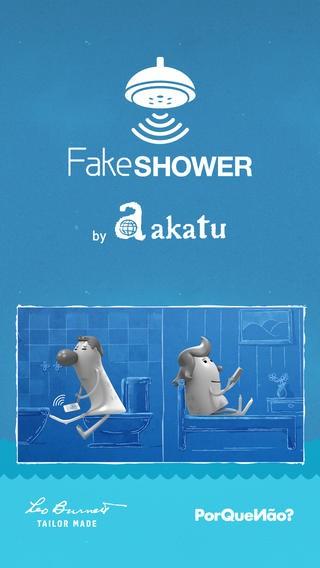 Akatu Fake Shower é uma brincadeira divertida!