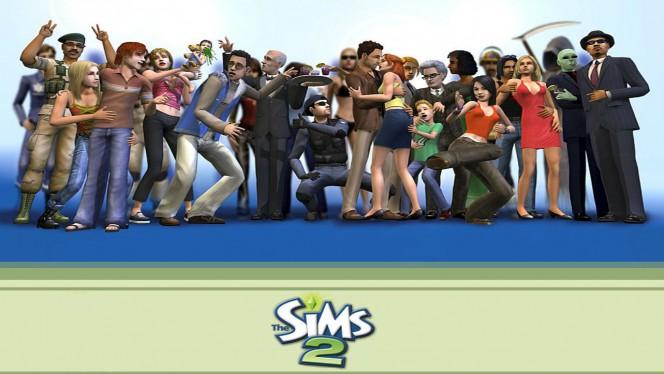the sims 2 header