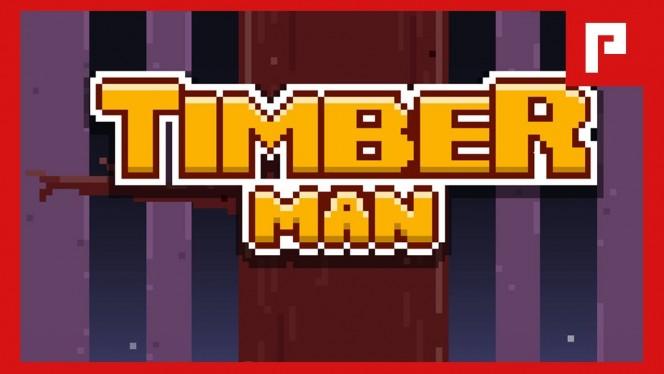 Timberman ameaça ser o novo Flappy Bird