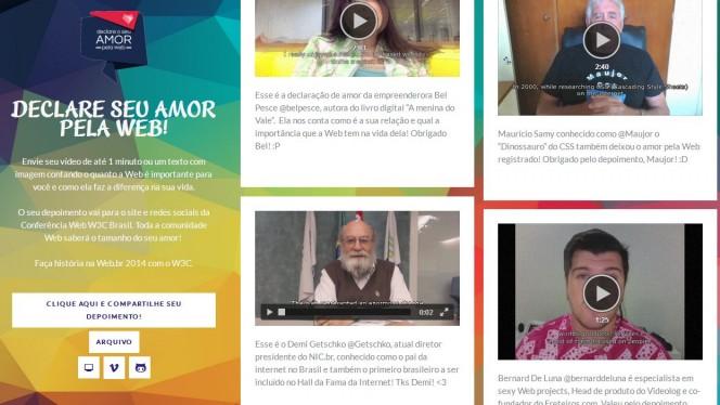 tumblr de comemoração de 25 anos web