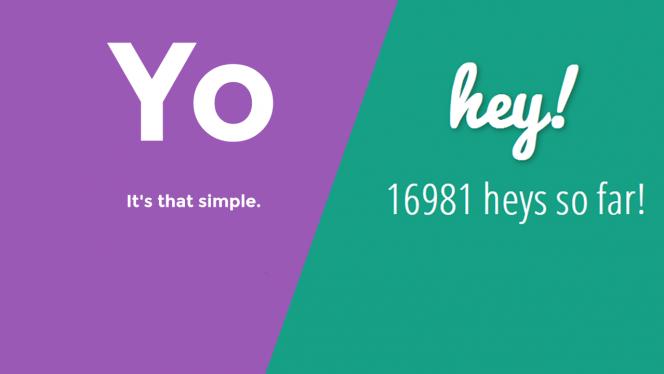 Comparativo: O app brasileiro hey! é melhor que o Yo?