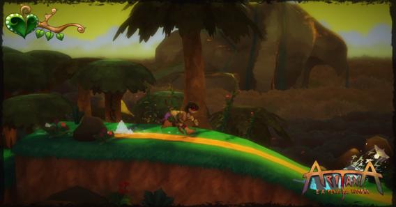 Aritana: um dos jogos de plataforma disponíveis no SplitPlay