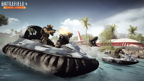 Hovercraft do Battlefield 4