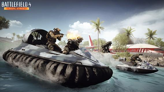 Hovercraft do Battlefield 4