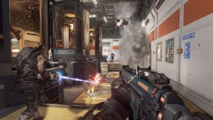 "Liberado o novo demo de Call of Duty: Advanced Warfare. E a ""Granada Pirocóptero"""