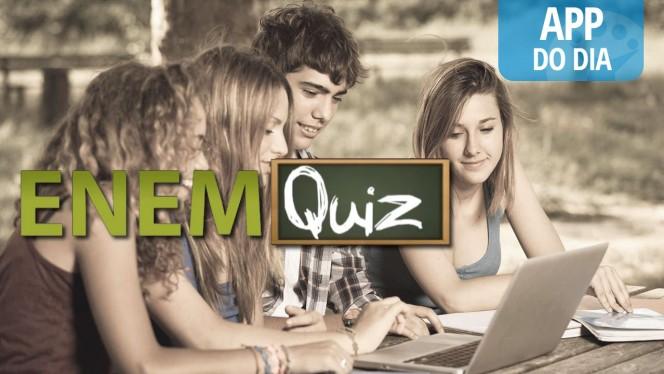App do dia: ENEM Quiz põe à prova tudo o que você estudou