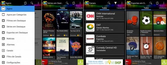 Guia TV BR lista a grade de canais de mais de 200 operadoras de TV