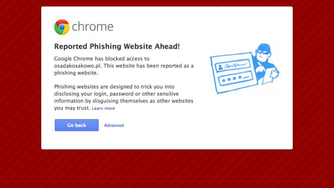 Phishing header