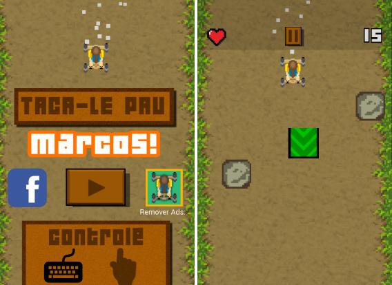 Taca-le Pau, o jogo do emblemático vídeo que viralizou no Brasil