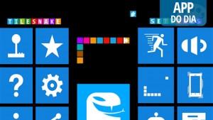 """App do dia: a viciante """"Cobrinha"""" ataca em telas touchscreen em TileSnake"""