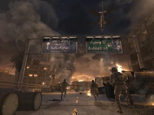 Cenas de CoD Modern Warfare