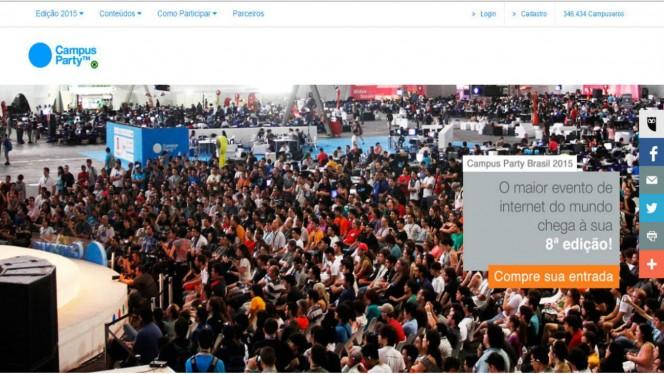 Campus Party 2015 header