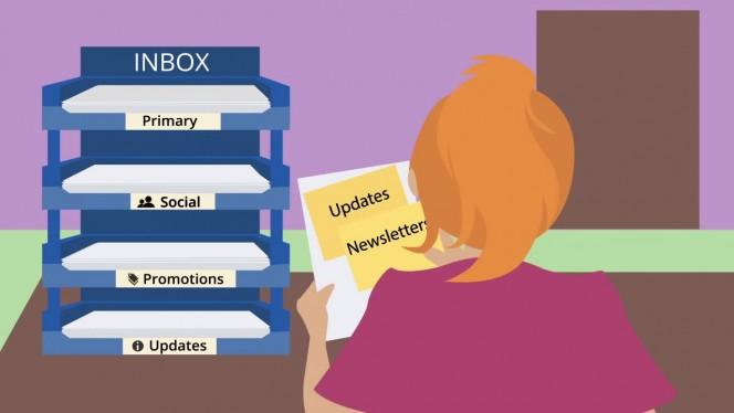 Organizando a casa, digo, o Gmail