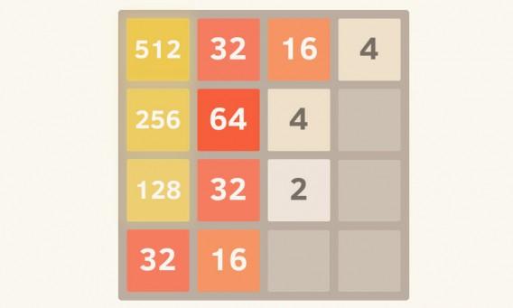 Faça as combinações corretas para chegar ao 2048