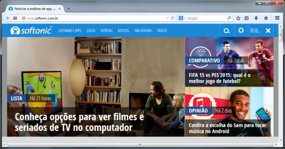 Firefox 32 no Windows 7
