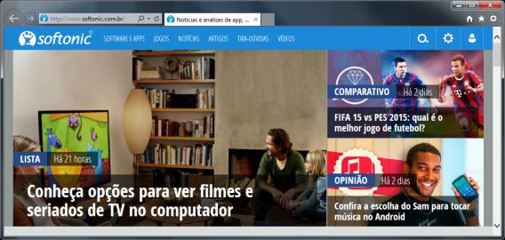 Internet Explorer 11 no Windows 7