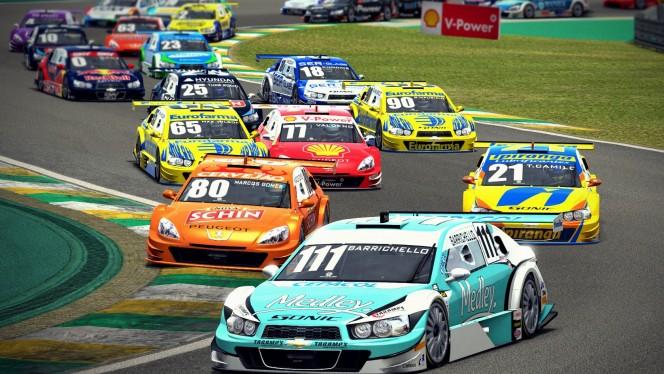 A principal categoria do automobilismo brasileiro é só uma das muitas categorias do game