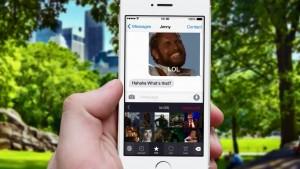 iPhone terá um teclado virtual apenas para GIFs animados