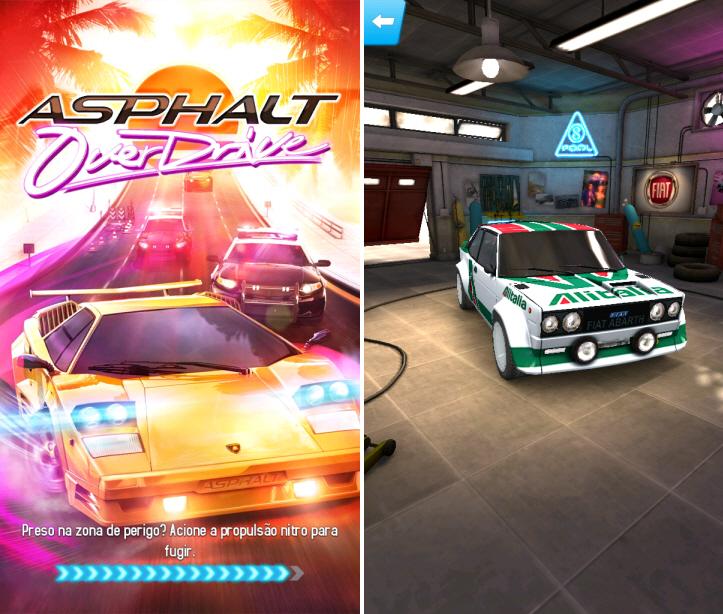 Asphalt Overdrive: um ode aos anos 80 e jogos de corrida infinitas